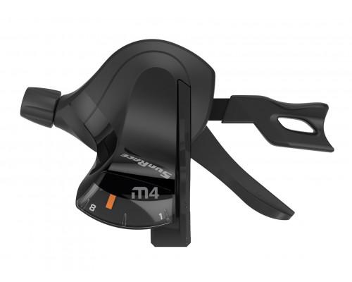Переключатель скоростей/манетка DLM403.R800.0S0.HP 06-201308 триггер M403 правый, 8 скоростей, трос 2100мм SUNRACE
