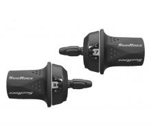Переключатель скоростей TSM21.R700.GS0.HP, 06-201577 Грипшифт M21 правый, 7ск, трос 2100мм, SUNRACE