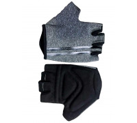 Перчатки 08-202202 лайкра CLASSIC серые, размер S, с петельками FUZZ