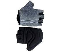 Перчатки 08-202206 лайкра CLASSIC серые, размер XXL, с петельками FUZZ