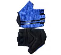 Перчатки 08-202214 лайкра CLASSIC синие, размер L, с петельками FUZZ