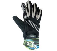 Перчатки 08-202803 неопреновые WIND PRO, черно-серые, утепленные, длинные пальцы, размер M, для сенсорных экранов, GEL, на липучке FUZZ
