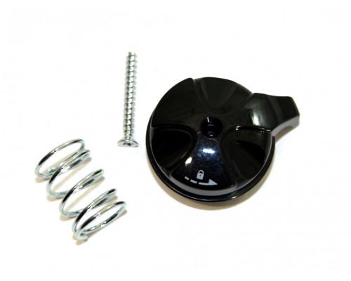 Запчасть для вилки 1-0920 колпачок, механическая блокировка для ML-CAPA/NEON/SOFI алюминиевый черный RST