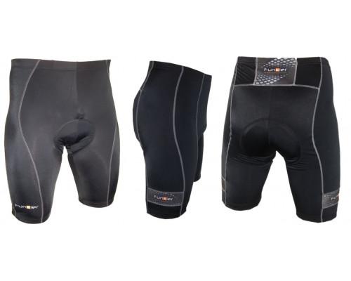 Велошорты 12-556 Venezia S-203-2-C14 Black Men Pro 10 panel Shorts с памперсом C14 черные размер M FUNKIER