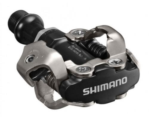 Педали .EPDM540L 2-1011 контактные MTB алюминиевый ось Cr-Mo 352г черные . SHIMANO