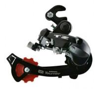Суппорт/переключатель задний TOURNEY ARDTZ500GSB 2-2125 6 скоростей крюк средний черный SHIMANO