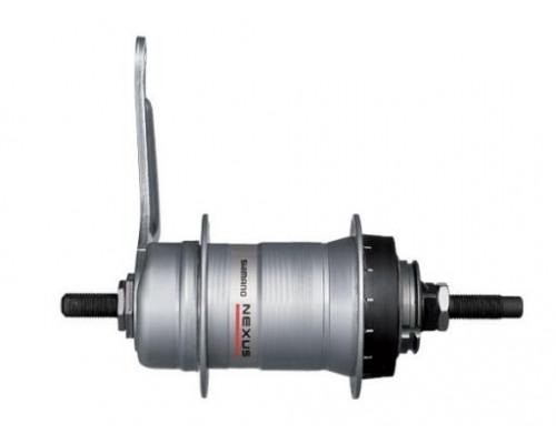 Втулка планетарная ASG3C41A2078 2-3008 задняя NEXUS алюминиевая 36 отверстий 3скорости ножной тормоз 120х178мм сер. SHIMANO