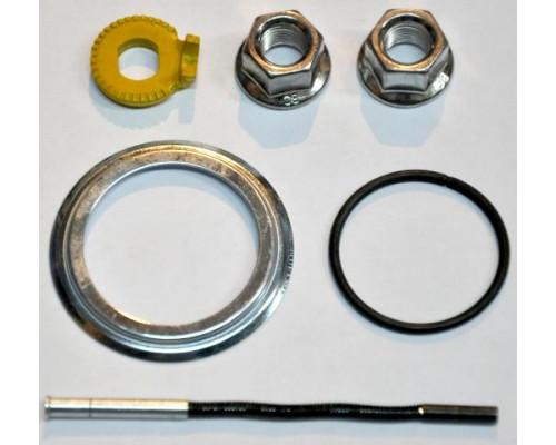 Запчасть для планетарной втулки ASM3D558CL010 2-3014 для SG-3D55, штырек 90.75мм, 2гайки с шайбой, стопорная шайба, пыльник