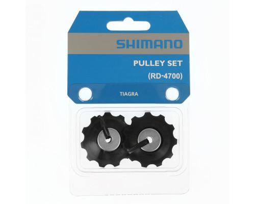 Ролики Y5RF98070 2-3024 задний переключатель направляющая+натяжной 10 скоростей RD-4700 SHIMANO