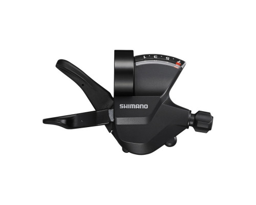 Переключатель ALTUS ESLM3157RA 2-3193 шифтер 7 скоростей правый, трос 2050см, черный SHIMANO