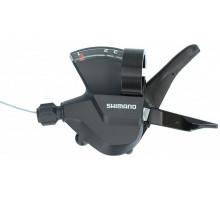 Переключатель ALTUS ESLM315LB 2-3194 шифтер 3 скоростей левый, трос 1800см, черный SHIMANO