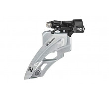 Суппорт/переключатель передний ALIVIO EFDM4000DSX6 2-4038 двойная тяга 40/30/22 зубьев верхний хомут 34,9/28.6мм 63-66` инд/уп. SHIMANO