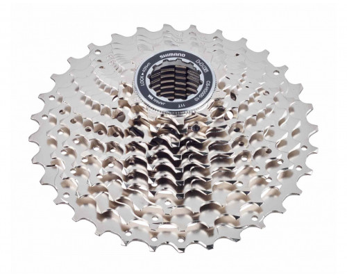 Кассета 10 скоростей ICSHG50010125 2-4080 TIAGRA 10х11-25 никелированная серебристая  SHIMANO