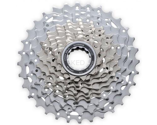 Кассета 10 скоростей ICSHG8110134 2-5015 SLX 10х11-34 Ni-Plated серебристая  SHIMANO