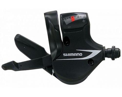 Переключатель ACERA ESLM360RAT 2-5021 RAPIDFIRE PLUS 8 скоростей правый тросик черный  SHIMANO