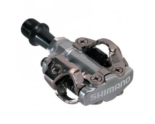 Педали .EPDM540 2-5062 контактные MTB алюминиевый ось Cr-Mo 352г серебристые . SHIMANO