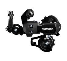 Суппорт/переключатель задний TOURNEY ARDFT35AD 2-5093 6 скоростей резьба супер коротк. лапка черный SHIMANO
