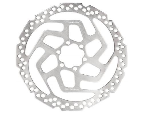 Тормозной диск 2-5314 ESMRT26M для дискового тормоза RT26 на 6 болтов 180мм нержавейка для пластиковых колодок сталь SHIMANO