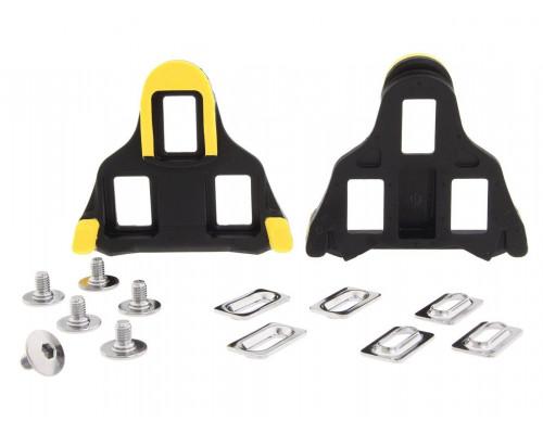 Педали/шипы 2-6026 Y42U98010 SM-SH11 для ROAD контактных педалей PD-7810/R540 желтые свобобный ход 6` SHIMANO