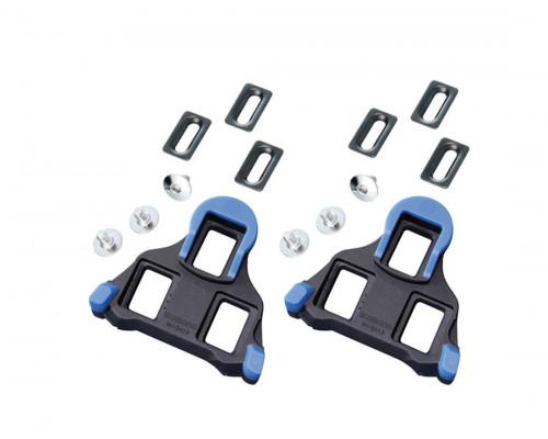 Педали/шипы 2-6027 Y40B98140 SM-SH12 для ROAD контактных педалей PD-7810/R540 синие свободный ход 2` SHIMANO