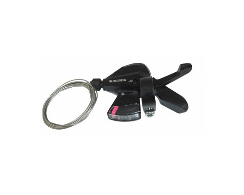 Переключатель ALTUS ASLM310R8AT 2-8042 RAPIDFIRE PLUS 8 скоростей правый тросик нержавейка черный SHIMANO