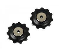 Ролики Y5XG98060 2-945 задний переключатель направляющая+натяжной ALIVIO/DEORE 9 скоростей RD-M390/430/4000 SHIMANO