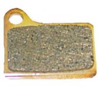 Тормозные колодки VX810С 3-037 для дискового тормоза полимерные SHIMANO DEORE HYDR. BR-M555/6 СLARK'S