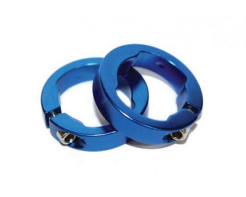 Руч./фиксаторы 3-301 кольцевые СLR алюминиевый анодированный синие CLARK`S