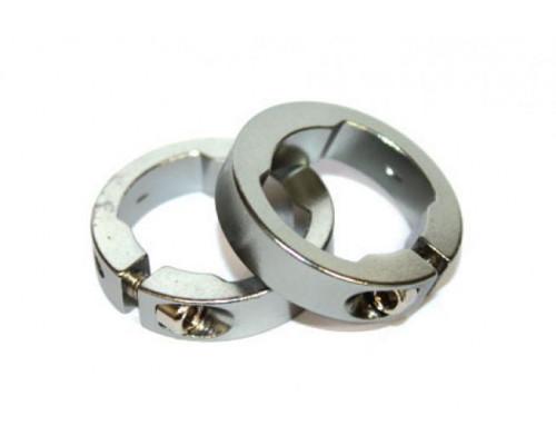 Руч./фиксаторы 3-303 кольцевые СLR алюминиевый анодированный серебристый CLARK`S