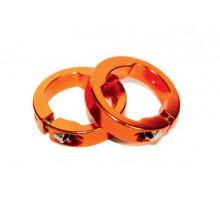 Руч./фиксаторы 3-304 кольцевые СLR алюминиевый анодированный золотистые CLARK`S