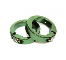 Руч./фиксаторы 3-306 кольцевые СLR алюминиевый анодированный зеленые CLARK`S