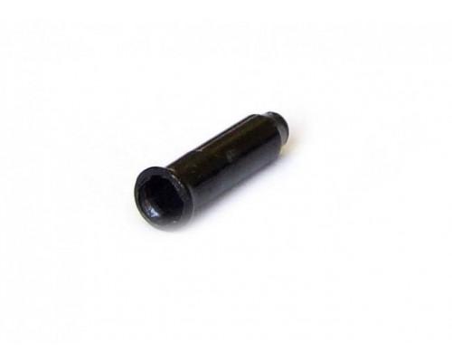 Колпачки/3аглушки 3-307 на тросики универсальные CX88DP BLK алюминиевый черные (100шт банке) CLARK`S