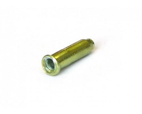 Колпачки/3аглушки 3-308 на тросики универсальные CX88DP LG алюминиевый светло-зеленые (100шт банке) CLARK`S