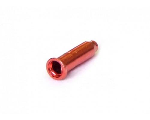 Колпачки/3аглушки 3-310 на тросики универсальные CX88DP RED алюминиевый красные (100шт в банке) CLARK`S