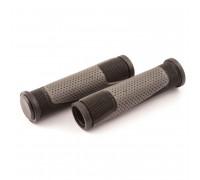 Ручки .CL-G305 на руль 3-325 130мм резиновые 2-х компонентные, черно-серые CLARK`S