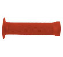 Ручки .С83 на руль 3-364 резиновые BMX 135мм торцевая защита + защита от проскальзования красные CLARK`S