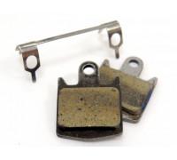 Тормозные колодки VX855С 3-422 для дискового тормоза полимерные HOPE M4, DH4, ENDURO 4 СLARK'S