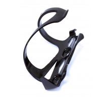 Флягодержатель 3-440 поликарбонат высокопрочный, облегченный, боковая установка фляги (д/детстских/женских велосипедов) BC-23 черный CLARK`S