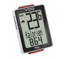 Велокомпьютер 4-30020 VDO M2.1 10 функций 3-строчный дисплей черно-белый