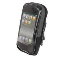 Сумочка/чехол 5-122396 на руль д/смартфона (новый размер) 170х80х30мм б/съемный вращающийся, влагозащитный черный размер XL EINDHOVEN SC1 M-WAVE