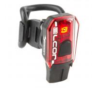 Фонарь 5-220460 задний 1SMD-LED повышенной яркости /5ф USB-заряд. Li-Pol АКБ 250МАh вращающееся магнитное крепление 17г. красный ALCOR MOON