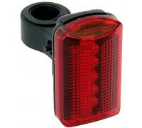 Фонарь 5-221085 заднний 5диодов/2функции красный с батарейками VENTURA