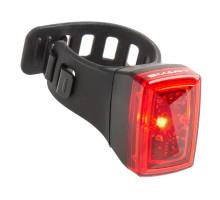 Фонарь 5-221550 задний, повышенной яркости/3функции красный с батарейками компактный быстросъемный SMART