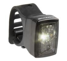 Фонарь 5-221551 задний/передний, повышенной яркости/3функции белый с батарейками компактный быстросъемный SMART