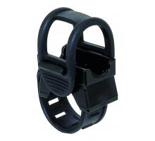 Держатель/крепление 5-223523 универсальный д/фары/насоса/плеера/телефона резиновым жгутом крепление на руль черный