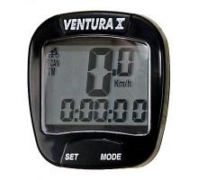 Велокомпьютер 5-244550 10 функций черный VENTURA Х