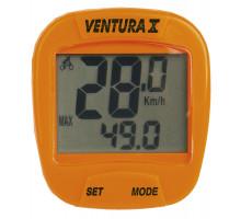 Велокомпьютер 5-244553 10 функций оранжевый VENTURA Х