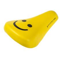Седло 5-251291 детское 210х138мм универсальное эластомерное с крепежом 12-16″ желтое дизайн ″SMILE″ VENTURA CHILD