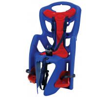 Сиденье 5-259856 детское на багажник Pepe синее до 7лет/22кг TUV BELLELLI