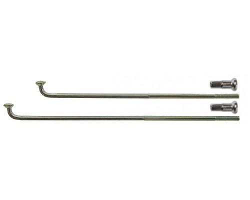 Спица 2,0*286мм 5-283518 28″ серебристая нержавейка сталь с латунным ниппелем CNSPOKE